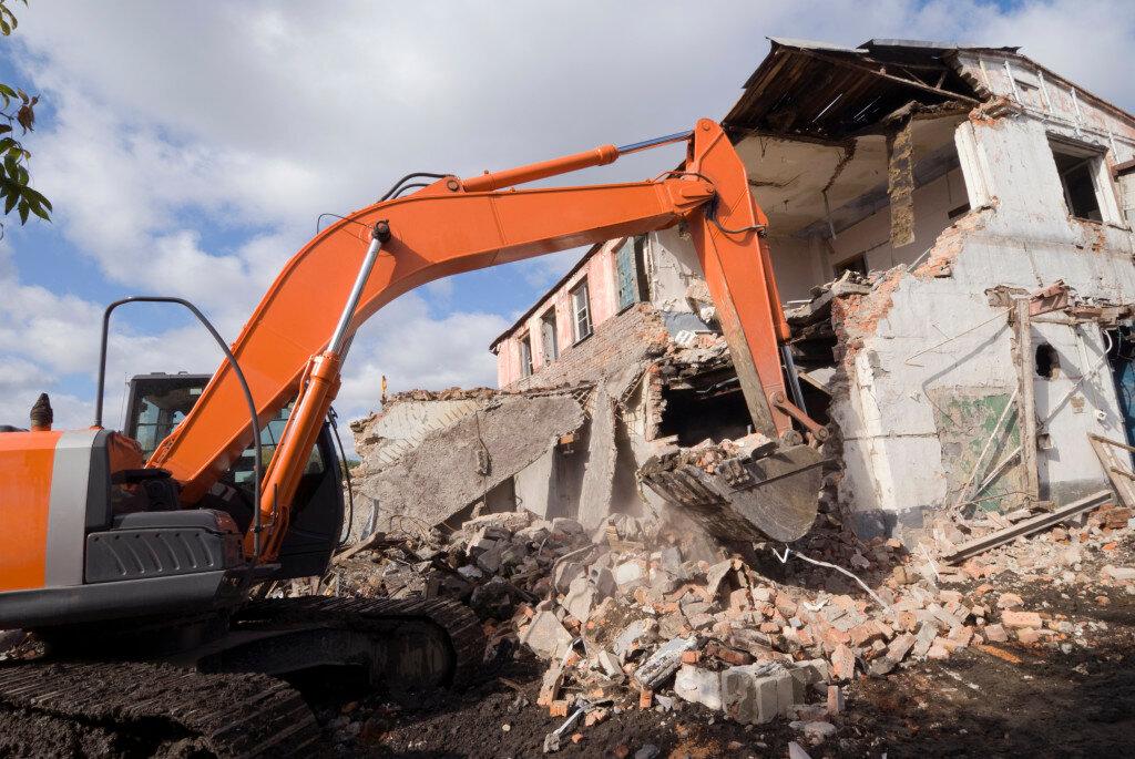 Демонтаж зданий